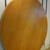 2.1m round table. Beech veneer. Price is £350 + vat