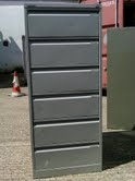 Bisley 6 drawer card index cabinets.they are £150.00 each