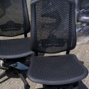 We have just recieved 10 of these Herman Miller Celle Office Chairs- Graphite colour without arms.